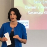 Sally Smith, Owner, Swansea Garage Storage